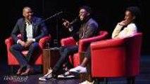 Chadwick Boseman & Lupita Nyong'o Discuss 'Black Panther' Social Implications at Apollo Theater   THR News