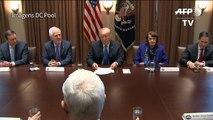 Trump sugere aumento da idade para compra de fuzis