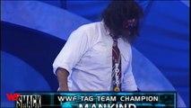 Buried Alive  FULL MATCH - Undertaker & Big Show vs. Rock & Mankind - - SmackDown, Sept. 9, 1999