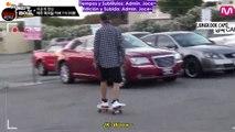 [Sub Español] AHL - Cut Unreleased 3.2 V's. Suga's and Jungkook's skateboard stunts