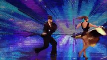 Ballroom dancers Kai and Natalia - Britains Got Talent new audition - International version