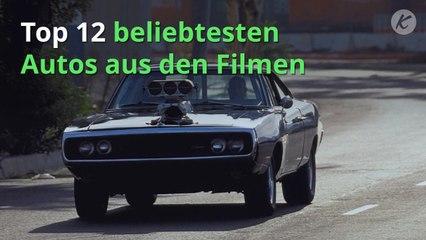 Top 12 beliebtesten Autos aus den Filmen
