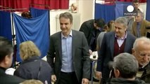 Greek conservatives elect new leader to challenge Tsipras
