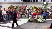 Mexico mayor is mourned after her murder by four gunmen