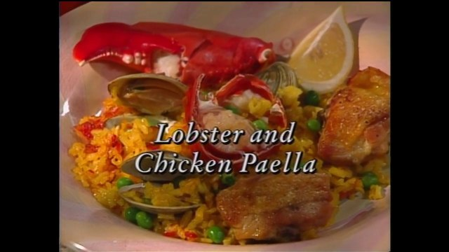 Lobster and Chicken Paella and Creme Fraiche Ice Cream with Almond Roasted Figs featuring Julian Serrano (In Julia's Kitchen with Master Chefs)