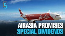 EVENING 5: Special dividends as AirAsia sells leasing ops