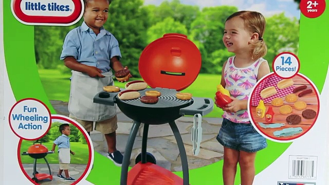 Little Tikes Sizzle n Serve Grill (Inside and Outside Grill for Kids) – Cooking Toys for Children