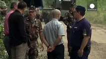 Hungary defies its critics and builds a barrier along its open border with Serbia