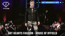New York Fashion Week Fall/Winter 18 19 - Art Hearts Fashion -  House of Byfield | FashionTV | FTV