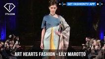 New York Fashion Week Fall/Winter 18 19 - Art Hearts Fashion - Lily Marotto | FashionTV | FTV