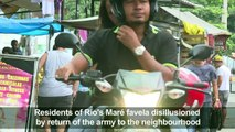 In Rio's Mare favela, residents disapprove of army intervention