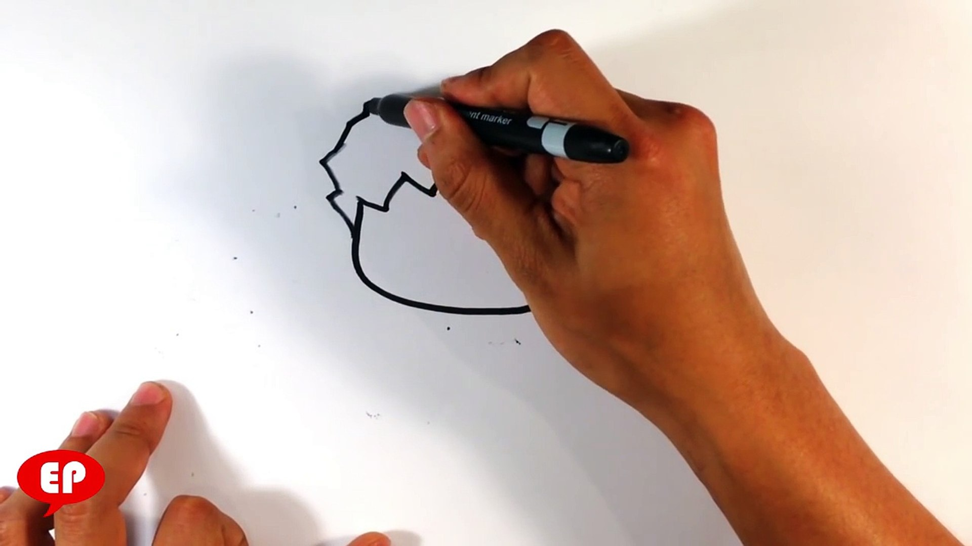 How to Draw Cute Hulk - Easy Pictures to Draw
