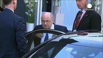 Sepp Blatter announces resignation as FIFA president