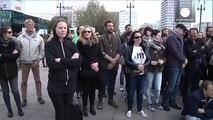 Snowden, Assange and Manning statues unveiled in Berlin's Alexanderplatz
