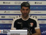 (J24) Pau - Laval, avant-match avec M.Pires