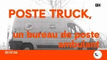 Poste truck, un bureau de poste ambulant