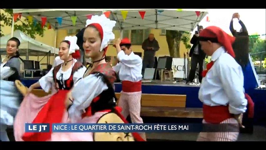 Extrait Azur Tv - Mai de Nice Saint Roch
