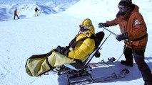 Rencontre avec un moniteur de ski spécialisés dans le ski pour les personnes handicapées