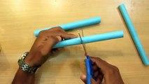 How to Make a Paper Gun that shoots Paper Bullets - Easy paper gun Tutorials