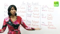 How to learn new English Vocabulary Quick & Easy? Free Spoken English Lessons
