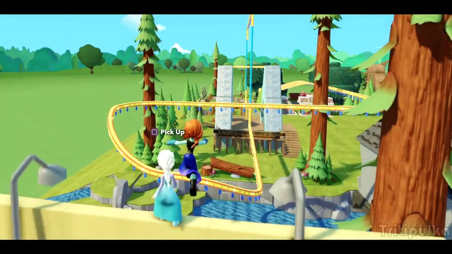 Холодное сердце Мультик Игра Для детей Принцесса Анна и Эльза новые серии на русском Disney