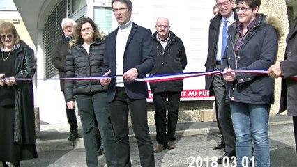 Pose de la première pierre de la restructuration du Service de Soins de Suite et de Réadaptation (SSR) du Centre Hospitalier de Nontron