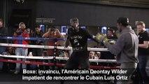 Boxe: rencontre avec le champion américain Deontay Wilder