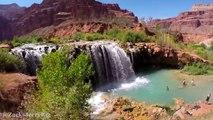 Cette Oasis paradisiaque se situe dans le Grand Canyon... Magnifique