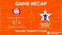 Highlights: AX Armani Exchange Olimpia Milan - Anadolu Efes Istanbul
