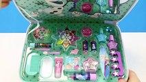 Maleta de Maquillaje para niñas de FROZEN Elsa y Anna   Set Manicura de Frozen para niñas