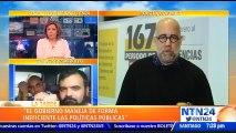 """""""En Venezuela se está viviendo un Democidio"""": Gonzalo Himiob, director del Foro Penal sobre crisis en el país"""
