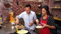 Tarte sans cuisson dautomne : pomme poires et caramel (no bake pie)