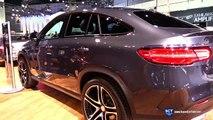 2016 Mercedes-Benz GLE-Class GLE 450 AMG Coupe - Exterior and Interior Walkaround -new LA Auto Show