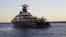 Indonesian police inspect luxury yacht linked to 1MDB investigation