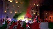 Elezioni italiane: CasaPound al Pantheon e antifascisti in piazza