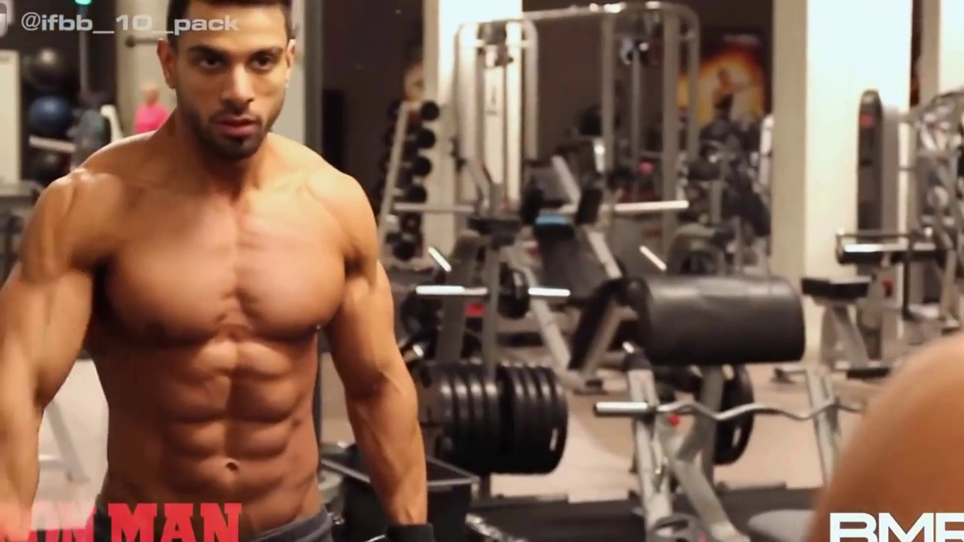 Beast ABS in the world Mr Ali ....Bodybuilding Motivation video 2018