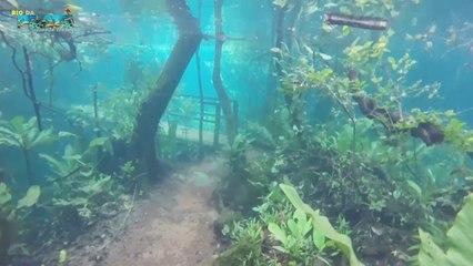 Nach starken Regenfällen: Wanderweg wird zu Unterwasserparadies