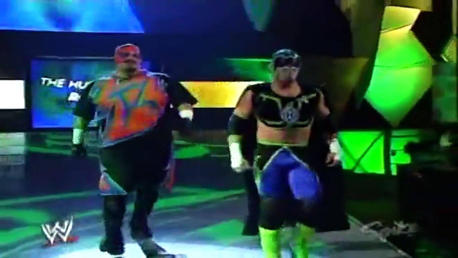 Trevor Murdoch vs The Hurricane Raw September 19, 2005