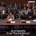 Le discours d'Evan Rachel Wood sur le viol devant le Congrès