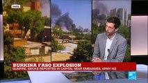 Multiple attacks underway in Burkina Faso capital Ouagadougou