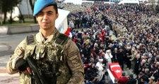 Erciş Şehidini Bağrına Bastı, Uzman Onbaşı Rıdvan'ı 7 Bin Kişi Uğurladı