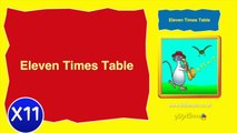 Kidzone - Eleven Times Table