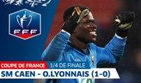 Coupe de France, Quarts de Finale : SM Caen - O.Lyonnais, résumé I FFF 2018