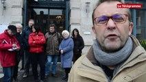 Saint-Brieuc Bureaux de poste. Les syndicats invitent la maire à rejoindre la lutte