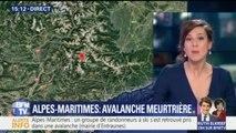 Une avalanche fait plusieurs morts dans les Alpes-Maritimes