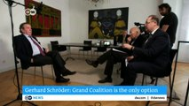 Germany: Schröder urges SPD to join new grand coalition | DW English