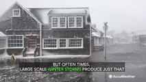 Here's why winter storms produce coastal flooding