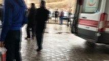 Minibüs şarampole yuvarlandı: 1 ölü, 9 yaralı
