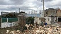 Démolition d'une partie de l'usine Candia