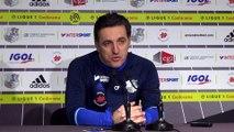 Avant le match_Christophe_Pélissier Amiens SC-Stade Rennais :
